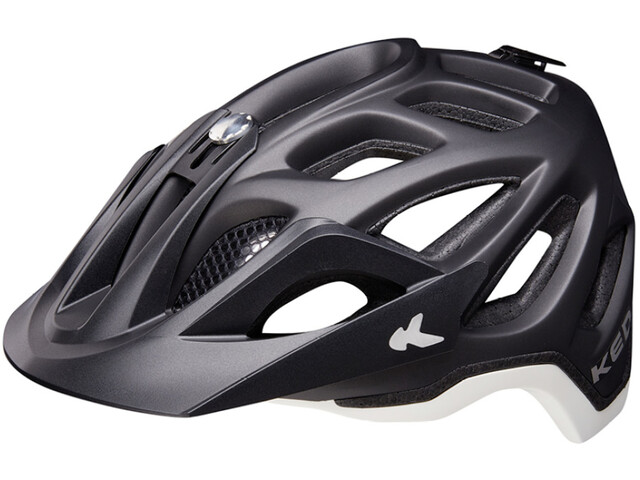 KED Trailon Helm black/white matte